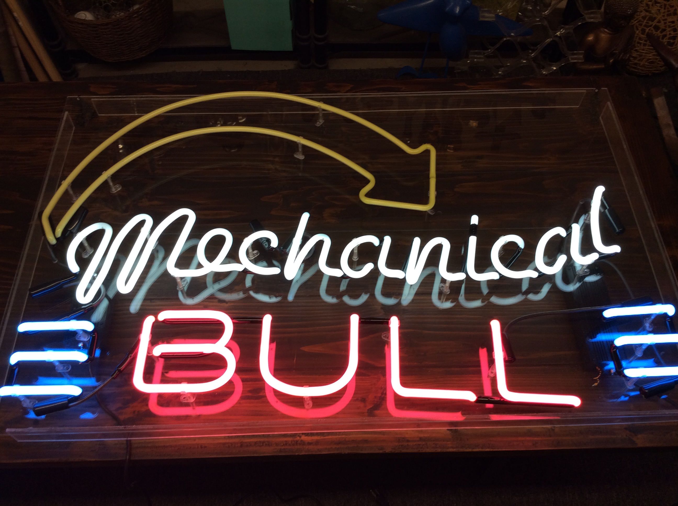 Neon Mechanical Bull