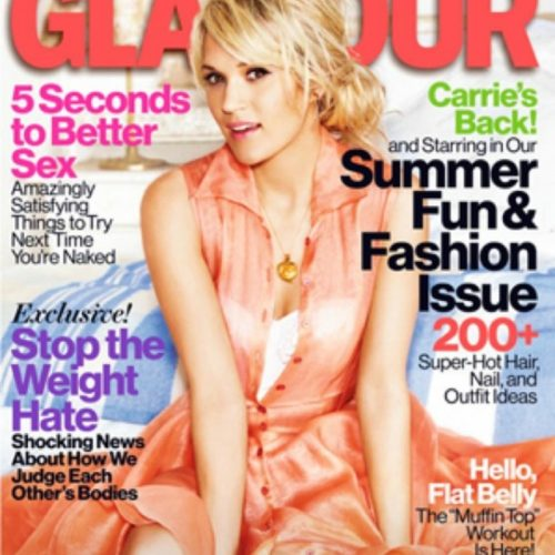 Magazine Cover Carrie