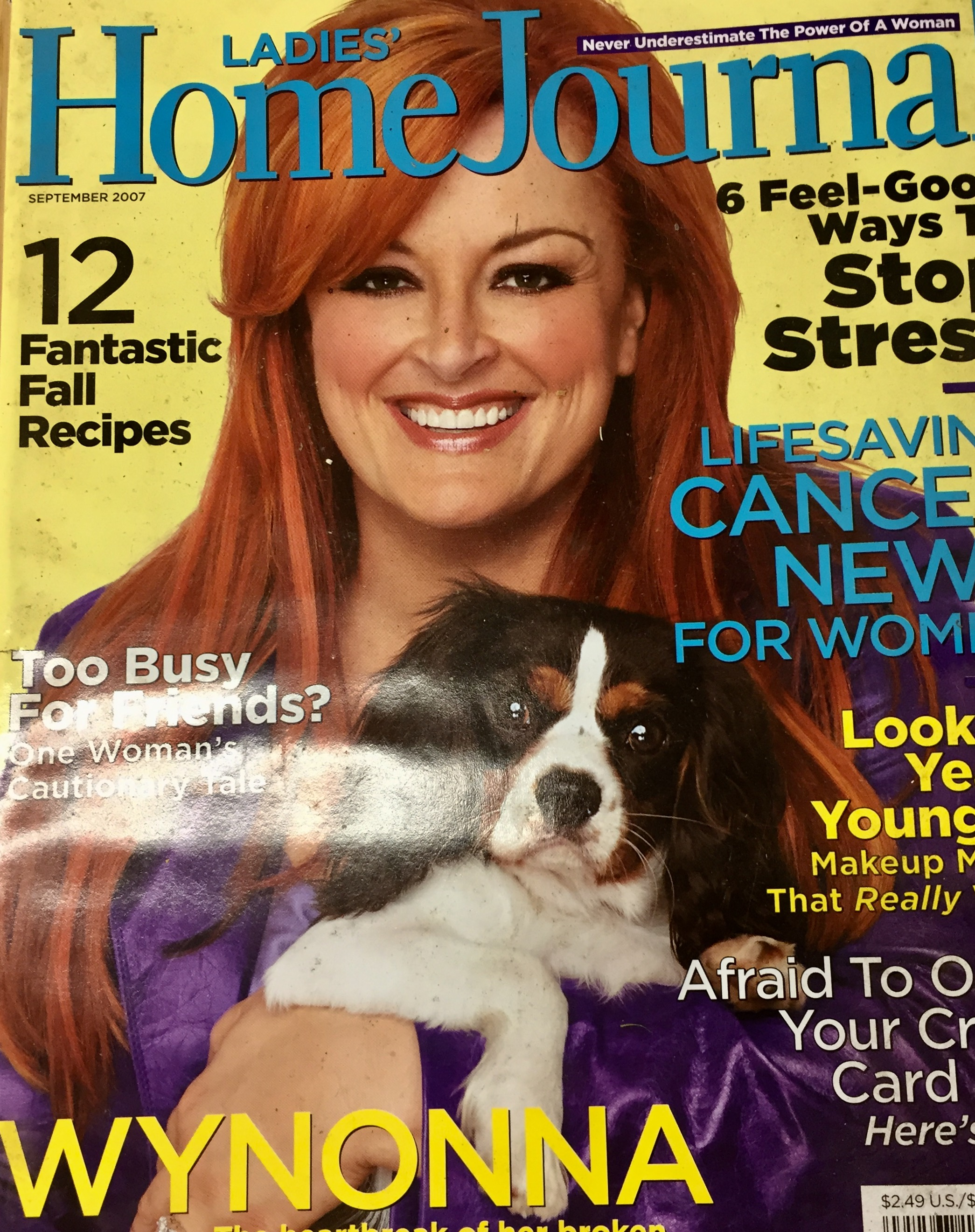 Magazine cover Ladies Home Journal