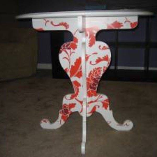 single anthropologie side table